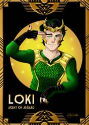 Loki: Agent of Asgard by KSNC