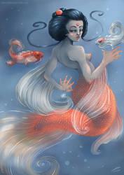 Mermaid Koi by Gilthonniel