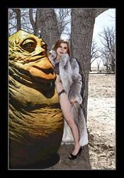 Jabba flirts by znak-1