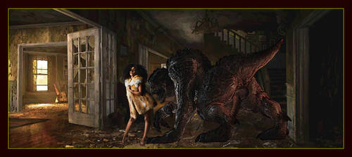 Brave beauty and the beast by znak-1