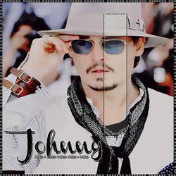 Johnny Depp, PSD. by Ewpapasfritas