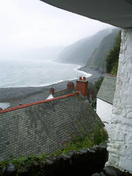 A View in Clovelly by luckynugget