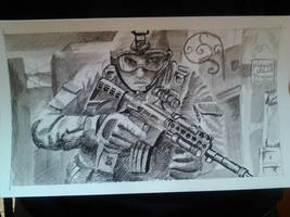 Battlefield Sketch by felcandy