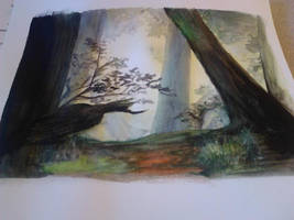 Forest Scene from Witcher 2 by felcandy