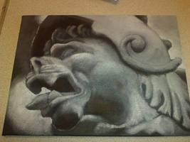 Gargoyle by felcandy