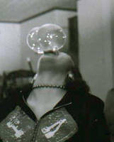 Android eating bubbles by fascinationtriangle