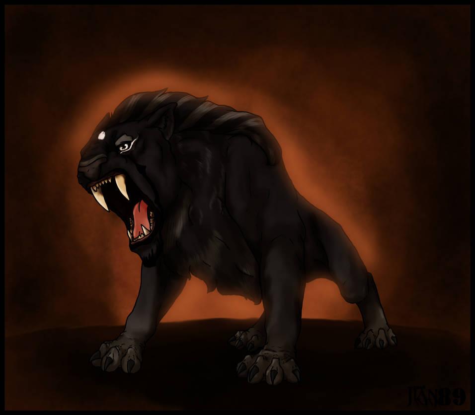 Prehistoric beast by Jian89