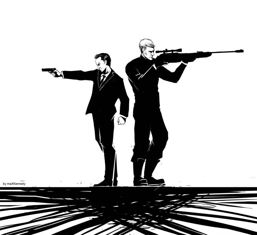 Sherlock BBC - Black