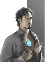 The Avengers - Tony Stark by maXKennedy