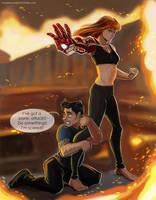 Iron man 3 - She by maXKennedy