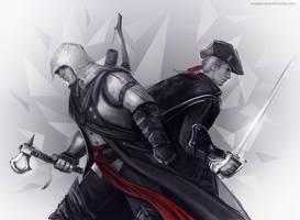 Assassin's Creed - Connor x Haytham by maXKennedy