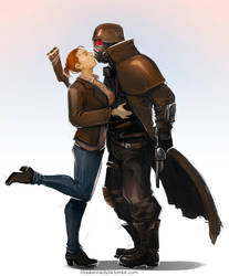 Fallout New Vegas - Kiss by maXKennedy