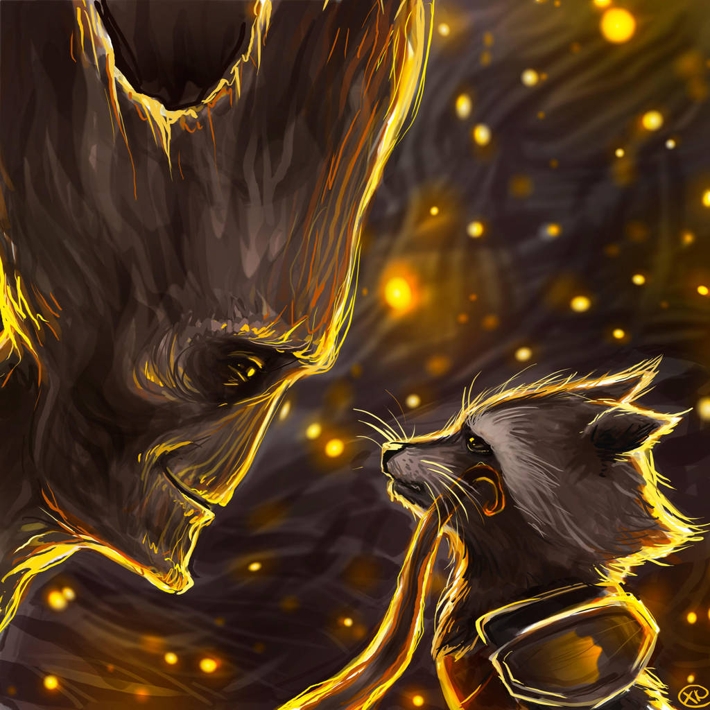 Guardians of the Galaxy - We are groot by maXKennedy
