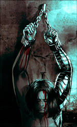 Captain America: The Winter Soldier - Chained by maXKennedy