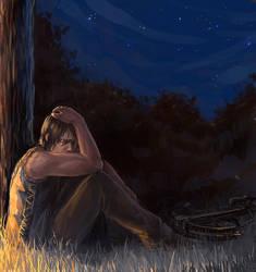 The walking dead - Alone by maXKennedy