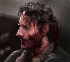 The walking dead - Rick Grimes by maXKennedy