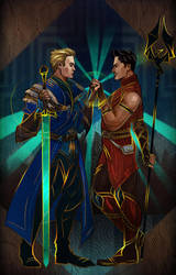 Dragon Age: Inquisition - Commission 4 by maXKennedy