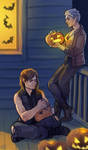 The Walking Dead - Halloween by maXKennedy