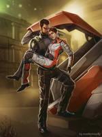 Deus Ex Human revolution - commission by maXKennedy