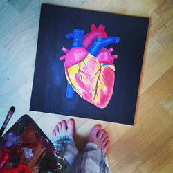 The heart by Sarush09