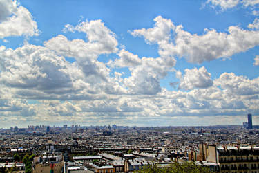 Montmartre view by Sarush09