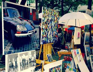 Montmartre art by Sarush09