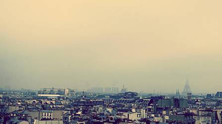 Morning Paris by Sarush09