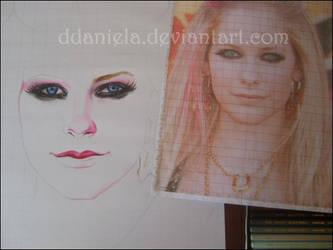 WIP- Avril Lavigne by DDaniela