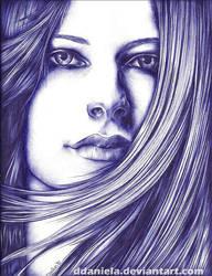 Avril Lavigne III by DDaniela