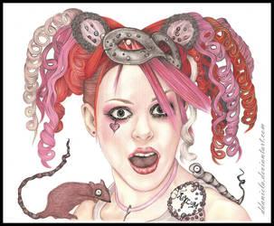 Emilie Autumn II by DDaniela