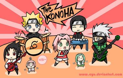 Naruto Konoha Band Feat Cyu by cyu