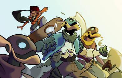 Bastion's 7 Kickstarter by Panthro005