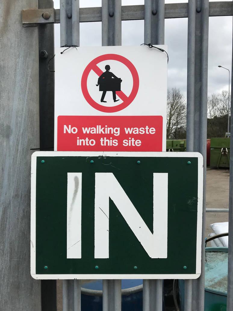 Walking waste  by pchris1602