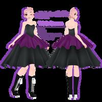 TDA Dress +DL by FierceBloodMMD