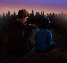 twd2_ jane and clem by viralsanctity