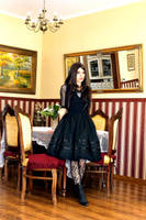 Gothic Lolita Dress by HelenQuila