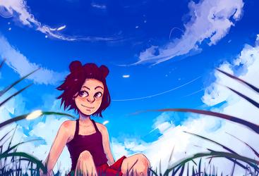 Summer Daze by elkenaa