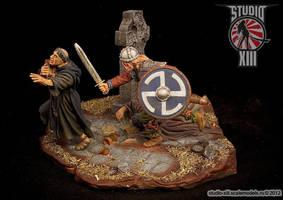 Viking Raid Diorama by Michael-XIII