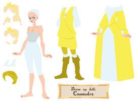 Kes - Dress up doll by Dedasaur