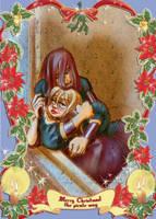 merry christmas kane and castalia by Dedasaur
