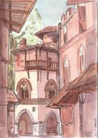 Turin Medieval Burg by Dedasaur