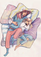Webcomic - TPB - Skecth_daily - 8 - Valentine 1 by Dedasaur