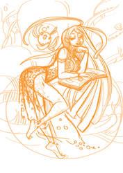Ded-line1 - Nicoli by Dedasaur