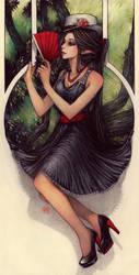 +black widow+ by Valentina-Remenar