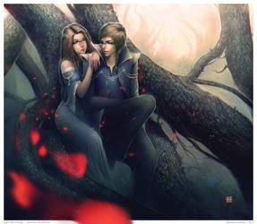 night full of magic by Valentina-Remenar