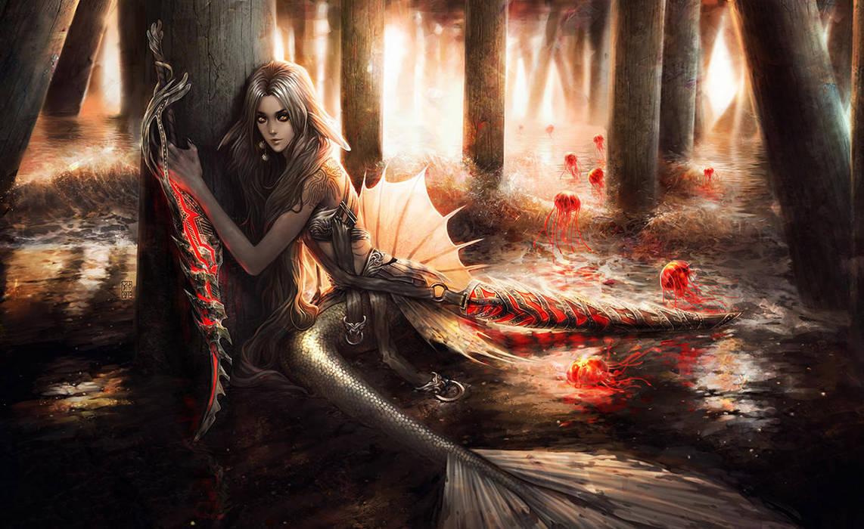 Mermaid's Wisps by Valentina-Remenar
