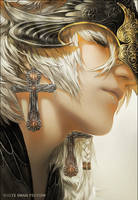 Threads artbook - White Swan preview by Valentina-Remenar
