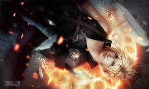 Cloud Strife - repaint by Valentina-Remenar