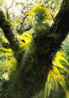Leaf Spirit by Valentina-Remenar