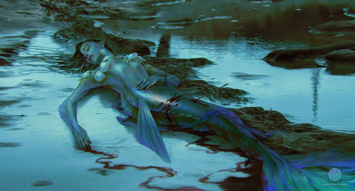 A Pearl Mermaid Hunt by Valentina-Remenar